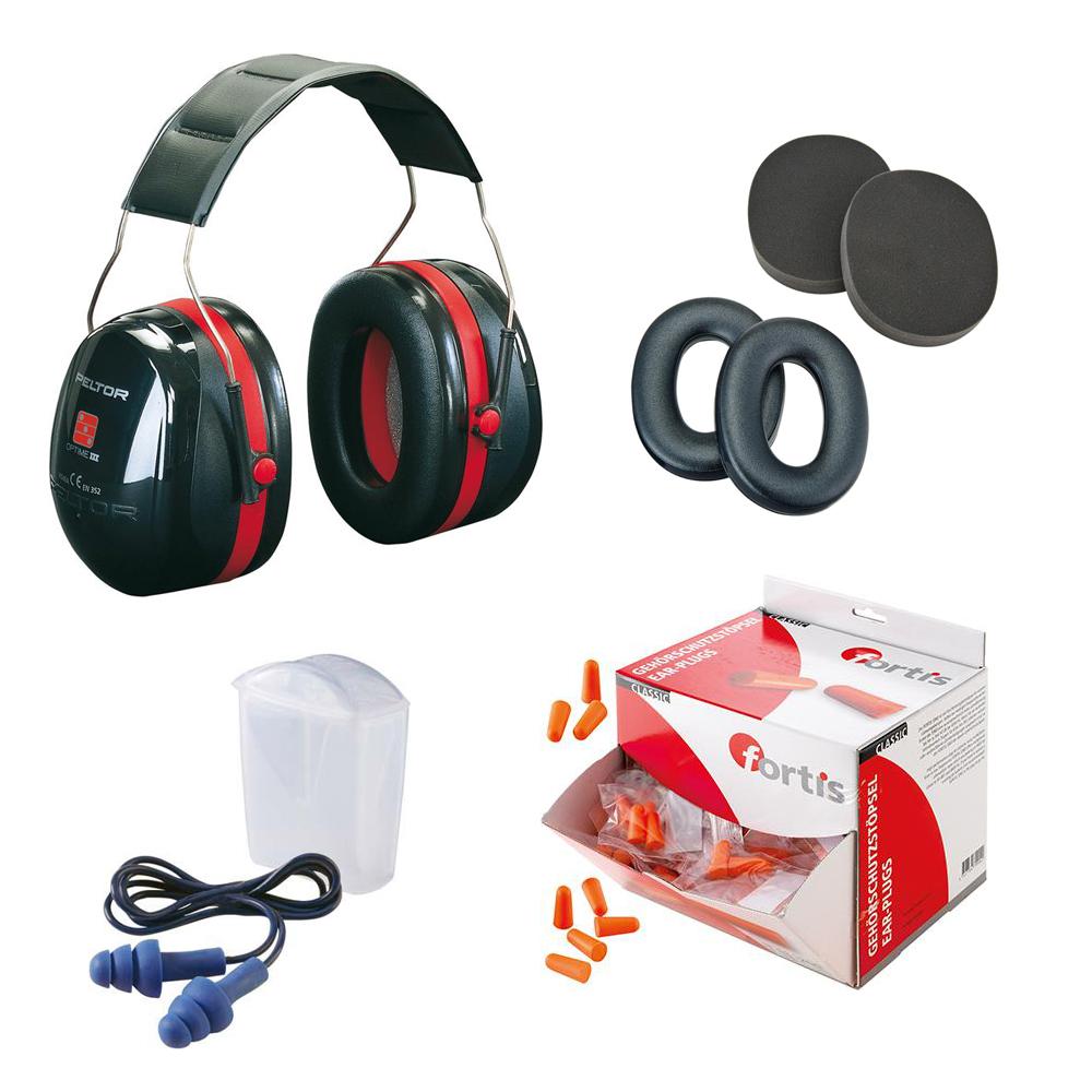 Gehörschutz von MTA - Kopfhörer, Gehörschutzstöpsel, Hygienesätze für Gehörschutz